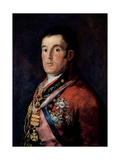 Portrait of Field Marshal Arthur Wellesley, 1st Duke of Wellington, C1814 Giclee Print by Francisco de Goya