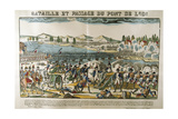 Battle and Crossing of Bridge of Lodi, 11 May, 1796 Giclee Print by Francois Georgin
