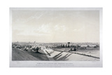 London and Croydon Railway, New Cross, Deptford, London, 1838 Giclee Print by Edward Duncan
