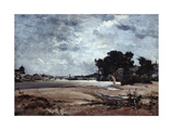The Loire, 1865 Giclee Print by Emmanuel Lansyer