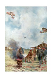 An Inversion a Little Close to the Ground, 1918 Giclee Print by Francois Flameng