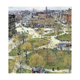 Union Square in Spring, 1896 Giclee Print by Frederick Childe Hassam