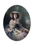 The Empress Eugenie, 19th Century Giclee Print by Franz Xaver Winterhalter