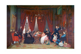 The Hatch Family, 1870-1871 Giclee Print by Eastman Johnson