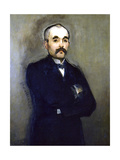 Georges Clemenceau, 1879 Giclee Print by Edouard Manet