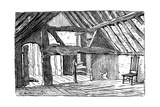 The Upper Story of Shakespeare's Birthplace, Stratford-Upon-Avon, 1885 Giclee Print by Edward Hull