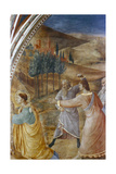The Stoning of St Stephen, Mid 15th Century Giclee Print by  Fra Angelico