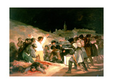 The Shootings of May 3rd 1808, 1814 Giclee Print by Francisco de Goya