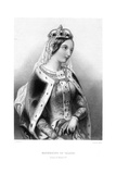 Catherine of Valois (1401-143), Queen Consort of King Henry V, 19th Century Giclee Print by Francis Holl