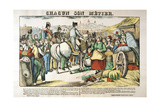 Napoleon's Return to Paris from the Island of Elba, 1815 Giclee Print by Francois Georgin