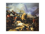 Battle of Rivoli Won by the Emperor Napoleon I, 14 January 1797, (C1835-188) Giclee Print by Felix Henri Emmanuel Philippoteaux