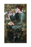Day Dream, 1880 Giclee Print by Dante Gabriel Rossetti
