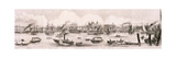 London from the River Thames, 1844 Giclee Print by Frank Vizetelly