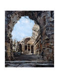 The Temple of Diana, 1890 Giclee Print by Emmanuel Lansyer