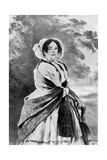 Queen Victoria's Mother Giclee Print by Franz Xaver Winterhalter