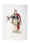 Treasurer in Ceremonial Costume, 1826 Giclee Print by Edward Scriven