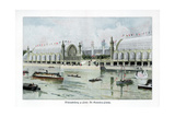 Palace of Horticulture, Paris World Exposition, 1889 Giclee Print by Ewald Thiel