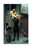 Rescued from the Plague, 1898 Giclee Print by Francis William Topham
