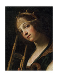 Concert (Detail), Late 16th or Early 17th Century Giclee Print by Francesco Rustici