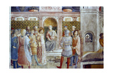 The Judgement of St Laurence, Mid 15th Century Giclee Print by  Fra Angelico
