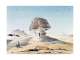 The Sphinx, 19th Century Impression giclée par Emile Prisse d'Avennes