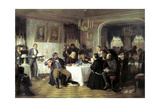 Merchant's Funeral Banquet, 1870s Giclee Print by Firs Sergeevich Zhuravlev