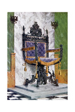 Wrought Steel Chair, 1910 Giclee Print by Edwin Foley