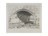 London Bridge, 1832 Giclee Print by Edward William Cooke