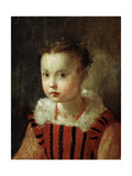 Portrait of a Girl, 16th or Early 17th Century Giclee Print by Federico Barocci