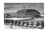 Tabernacle of the Grand Temple of the Mormons, USA, 19th Century Giclee Print by E Therond
