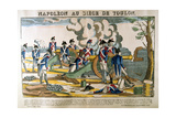 Napoleon at the Siege of Toulon, 1793 Giclee Print by Francois Georgin