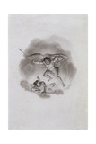 Satan and Beelzebub in Hell, C1799 Giclee Print by Edward Francis Burney