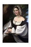 Portrait of a Woman, C1518 Giclee Print by  Correggio