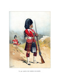 The 79th Queen's Own Cameron Highlanders, C1890 Giclee Print by Frank Teller