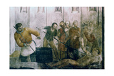 Martyrdom of St Laurence, Mid 15th Century Giclee Print by  Fra Angelico