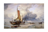 Dutch Pincks at Scheveningen, Holland, 1860 Giclee Print by Edward William Cooke