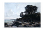 Laundrette at Low Tide, 1891 Giclee Print by Emmanuel Lansyer