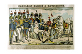 Napoleon Injured at Ratisbon, April 1809 Giclee Print by Francois Georgin