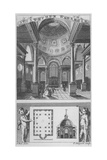 Church of St Stephen Walbrook, City of London, 1770 Giclee Print by Edward Rooker