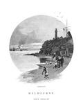 Queenscliff, Port Phillip, Victoria, Australia, 1886 Giclee Print by Frederic B Schell