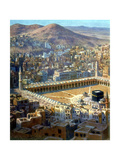 View of Mecca, from La Vie De Mohammed, Prophete D'Allah, C1880-C1920 Giclee Print by Etienne Dinet