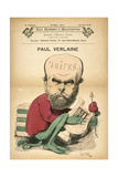Paul Verlaine as Decadence, C1880S Giclee Print by Emile Cohl