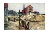 Factory Buildings, Soissons, 19 May 1915 Giclee Print by Francois Flameng