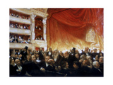 An Interval with the Comedie Francaise, 1886 Giclee Print by Edouard Joseph Dantan