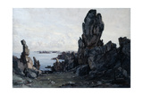 Island of Ushant, 1885 Giclee Print by Emmanuel Lansyer