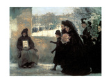 All Saints' Day, 1888 Giclee Print by Emile Friant