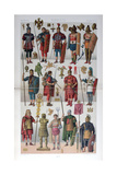 Roman Military and Gladiatorial Costume, C1800-1836 Giclee Print by Firmin Didot