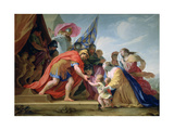 Volumnie and Véturie in Front of Coriolan, C1638-1639 Giclee Print by Eustache Le Sueur