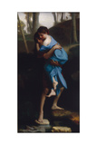 Paul Et Virginie, 1866 Giclee Print by Emile Levy