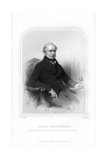 James Montgomery, Scottish Editor and Poet Giclee Print by FA Roberts